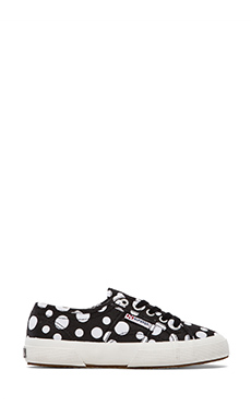 Superga Fantasy Sneakers in Black Dots