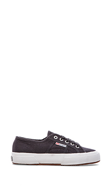 Superga Cotu Slipon in Dark Grey Iron