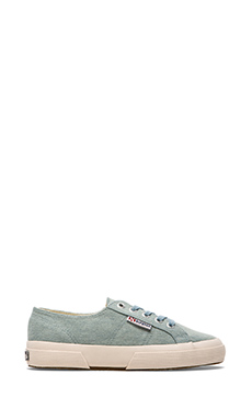 Superga Vintage Denim Sneakers in Light Blue