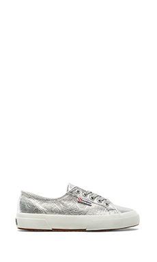 Superga Illinois Porter Sneaker in Silver