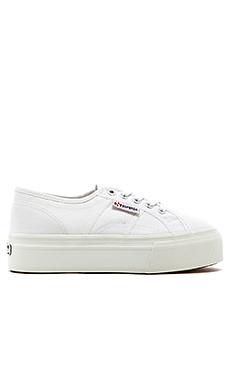 Superga Slip On Sneaker en Blanc