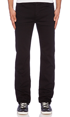 7 For All Mankind Luxe Performance Standard in Nightshade Black