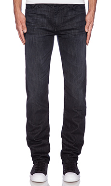 7 For All Mankind Slimmy in Washed Obsidian