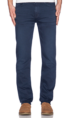 7 For All Mankind Luxe Performance Slimmy in Authentic Navy