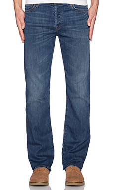 7 For All Mankind Luxe Performance Standard in Half Moon Blue