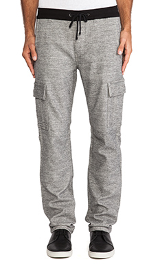 7 For All Mankind Knit Cargo in Heather Grey