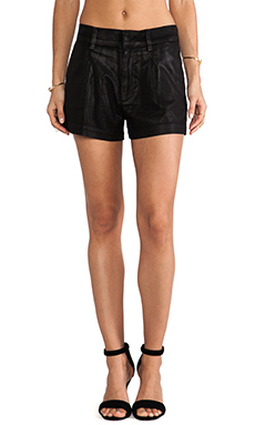 7 For All Mankind Soft Drapey Short in Black