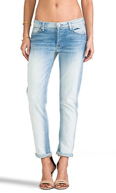 7 For All Mankind Josefina in Sun Bleached Destroy