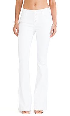 7 For All Mankind Biancha Pant in White Fashion