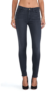 7 For All Mankind The HW Ankle Skinny in Bastille Grey