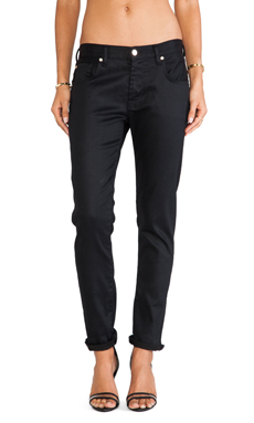 7 For All Mankind Relaxed Skinny in Black