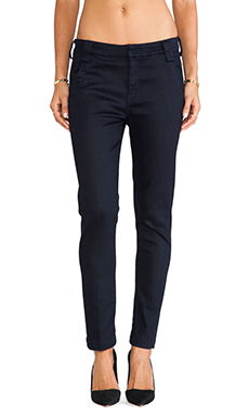7 For All Mankind Pencil Trouser in Fashion Rinse Denim