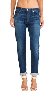 7 For All Mankind Relaxed Skinny in Genuine Medium Indigo