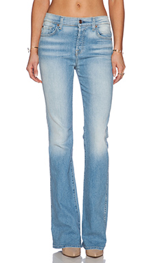 7 For All Mankind High Waisted Vintage Bootcut in Light Sky