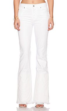 7 For All Mankind High Waist Vintage Bootcut in Runway White