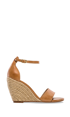 Seychelles Thyme Wedge in Luggage Leather