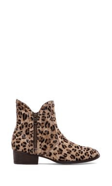 Seychelles Lucky Penny Bootie in Cheetah Calf hair