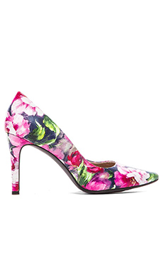 Seychelles Frequency Heel in Fuchsia Floral