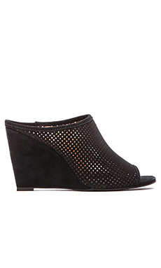 Seychelles Perfect Match Wedge in Black Suede