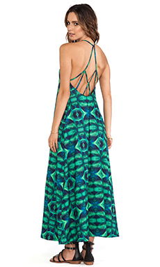 Stone Fox Swim Sage Dress in Oasis