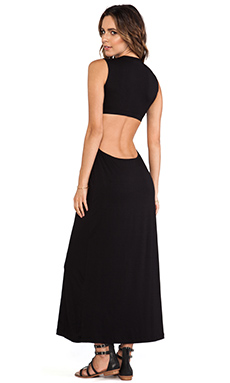 Stone Fox Swim Sydney Dress in Onyx