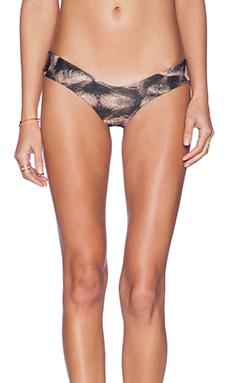 Stone Fox Swim Tucker Bikini Bottom in Nude Oasis