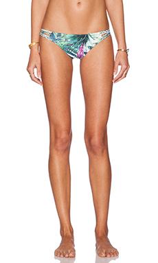 Stone Fox Swim Gypsy Bikini Bottom in Balihai