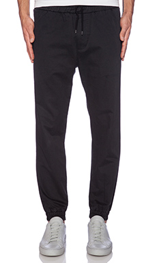 Shades of Grey by Micah Cohen Jogger in Black Twill