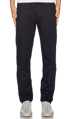 Shades of Grey by Micah Cohen Pleated Dress Pant in Navy