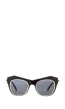 Shakuhachi x REVOLVE Odyssey Sunglasses in Clear/Black