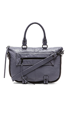 she + lo Rise Above Mini Satchel in Slate