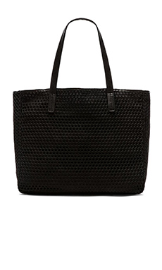 she + lo Onward Tote Bag in Black Perf