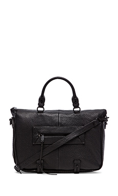 she + lo Rise Above Satchel in Black