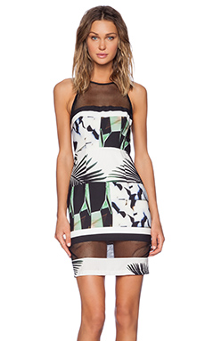 Shona Joy The Savage Bodycon Dress in Multi