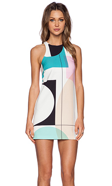 Shona Joy Mies Mini Dress in Multi