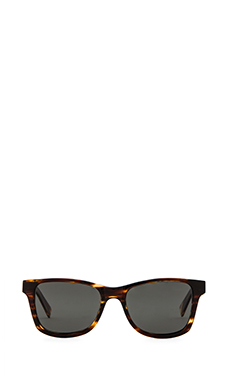 Shwood 50/50 Acetate Canby Polarized in Tortoise & Ebony