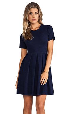 Shoshanna Valentina Sweater Dress in Midnight