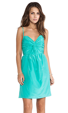 Shoshanna Carine Dress in Aqua