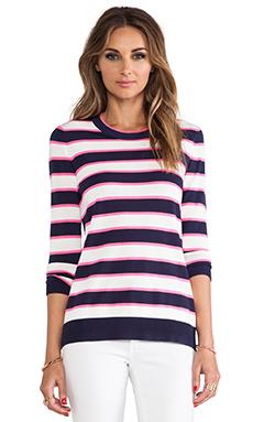 Shoshanna Striped Kim Sweater in Stripe Multi