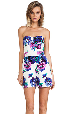 Shoshanna Kennedy Romper in Multi