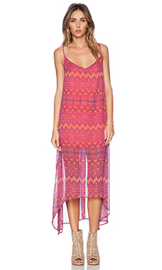 Show Me Your Mumu Taryn Strap Back Maxi Dress in Rajaah