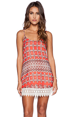 Show Me Your Mumu x REVOLVE Reville Dress in Red Marrakech