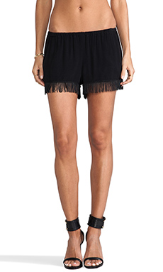Show Me Your Mumu Foggy Fringe Knickers in Black Crepe
