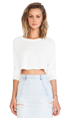 CHER CROP SWEATER