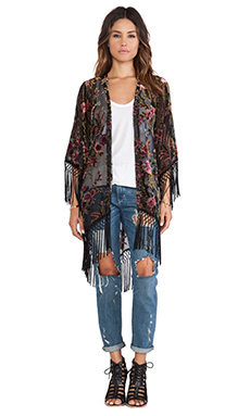 Show Me Your Mumu Metzler Kimono in Florence Burnout