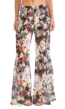 Show Me Your Mumu Roberts Party Pant in Madame Fleur