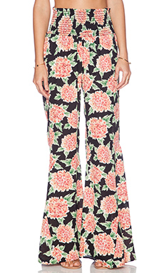 Show Me Your Mumu Roberts Party Pant in Flowerpuff Girls