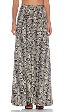 Show Me Your Mumu Princess Di Ballgown Skirt in Python Press