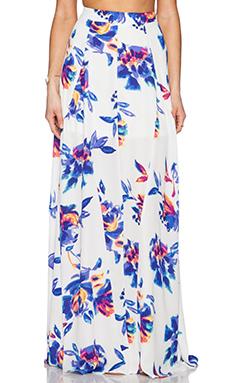 Show Me Your Mumu Princess Di Ballgown Skirt in Petal Paint
