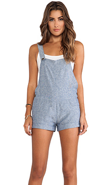 Show Me Your Mumu Vikki Joe Overalls in Washed Chambray